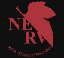 Evangelion NERV Tee by CrimsonRogue