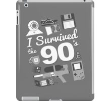 I Survived the 90's iPad Case/Skin