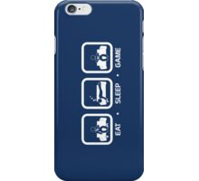 Eat, Sleep, Game (Console Version) iPhone Case/Skin
