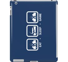 Eat, Sleep, Game (Console Version) iPad Case/Skin