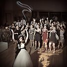 Tossing the bouquet or... by Randy Turnbow
