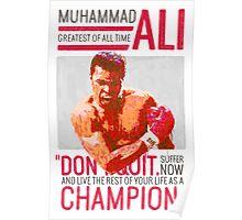 Muhammad Ali - G.O.A.T.  Poster