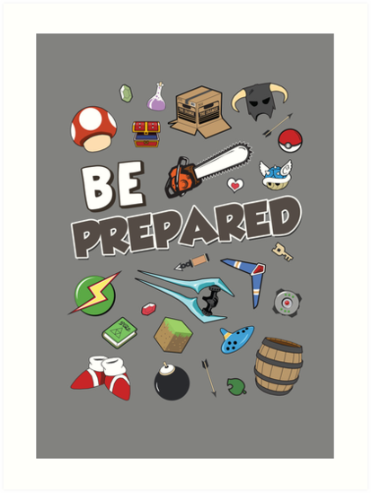 Be Prepared by thehookshot