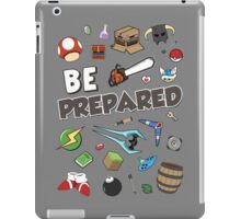 Be Prepared iPad Case/Skin