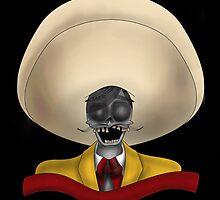 Tapatio Skull by Vikterhugo