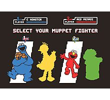 Muppet Fighter Photographic Print