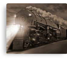 The 1812 On The Move Canvas Print