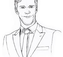 Benedict: in a suit by JessicaMariana