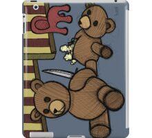 Teddy Bear And Bunny - Who Me? iPad Case/Skin