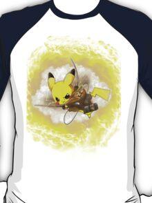 Pikachu! I CHOOSE YOU! ATTACK ON TITAN! T-Shirt