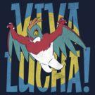Viva Hawlucha! by TeeKetch
