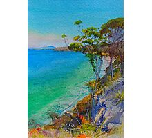 Spring Beach View Photographic Print