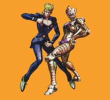 JoJo's Bizarre Adventure - Giorno Giovanna and Gold Experience Requiem by Ushiromiya