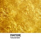 Real Life Pantone: Textured Gold by coffeespoon