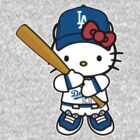 Hello Kitty Loves The Los Angeles Dodgers! by endlessimages