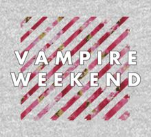 Vampire Weekend Floral by raimy