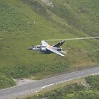 French Air Force Special Tail Mirage F1 low pass in the Mach Loop by Peter Talbot