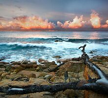 Sunset at South West Rocks by DonnaLB
