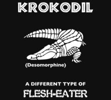 Krokodil -- A Different Type of Flesh-Eater by Samuel Sheats