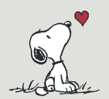 Peanuts - Snoopy in love by PippoNoise