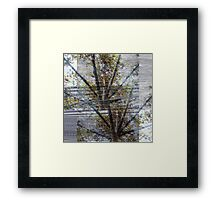 Suspension of disbelief or an untied sense bridge. Framed Print