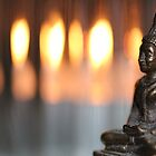 Buddha by candlelight by emsta