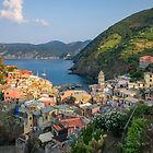 Sunrise on Vernazza by Bryan Peterson