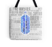 Doctor Who Villains and Companions Tote Bag