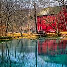 Reflections of an Old Red Mill by Jerry E Shelton