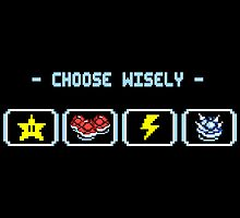Choose Your Item Wisely... by thehookshot