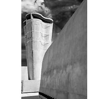 On the roof of Le Corbusier's Unité d'Habitation in Marseille - 3 Photographic Print