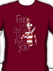 Where's Wally (Halloween) T-Shirt