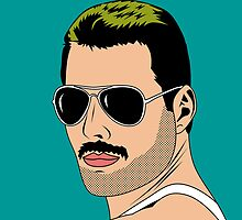 freddie mercury by mark ashkenazi