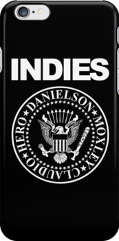 Indies Phone Case by TopRopeTuesday