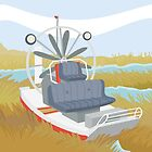 AIRBOAT (AQUATIC VEHICLE) by alapapaju