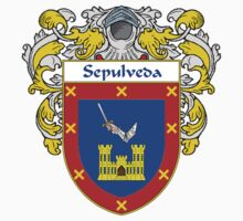 Sepulveda Coat of Arms/Family Crest Kids Clothes