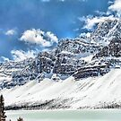 Canada's Bow Lake by Dyle Warren