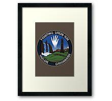 Mission to Isengard Framed Print