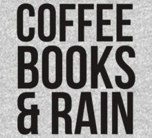 COFFEE BOOKS & RAIN by Alan Craker
