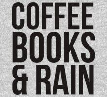 COFFEE BOOKS & RAIN by Al Craker