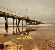 Henley Beach Jetty by Mark Cooper