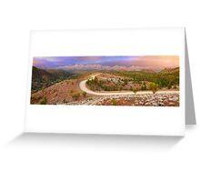 Bunyeroo Valley, Flinders Ranges, South Australia Greeting Card