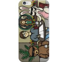 Teddy Bear And Bunny - Fifteen Minutes Of Fame iPhone Case/Skin