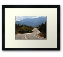 Majesty......(#3)  Deep in the heart of Garden of the Gods Framed Print