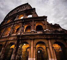 The Empire: Colosseum at Dusk, Italy by thewaxmuseum