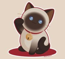 Kawaii Lucky Cat by kimchikawaii