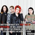 Gerard Way Quote #4 by DangerLine