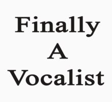 Finally A Vocalist by supernova23