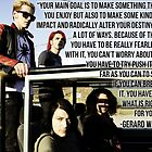 Gerard Way Quote #7 by DangerLine
