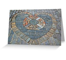 A Heart of Stone Greeting Card